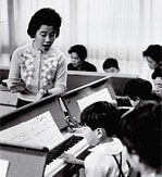 [ Image ] 1954:Establishes Yamaha Music School and holds pilot classes Produces its first HiFi player (audio product)