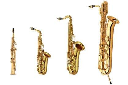 真實的薩克斯風音色,內含四種類型,共56 種預設音色,可對應各式的音樂風格。